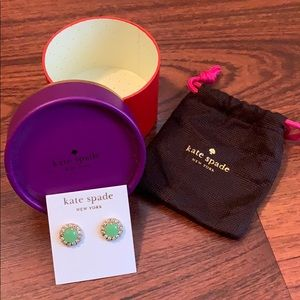 Kate Spade 14k gold fill earrings